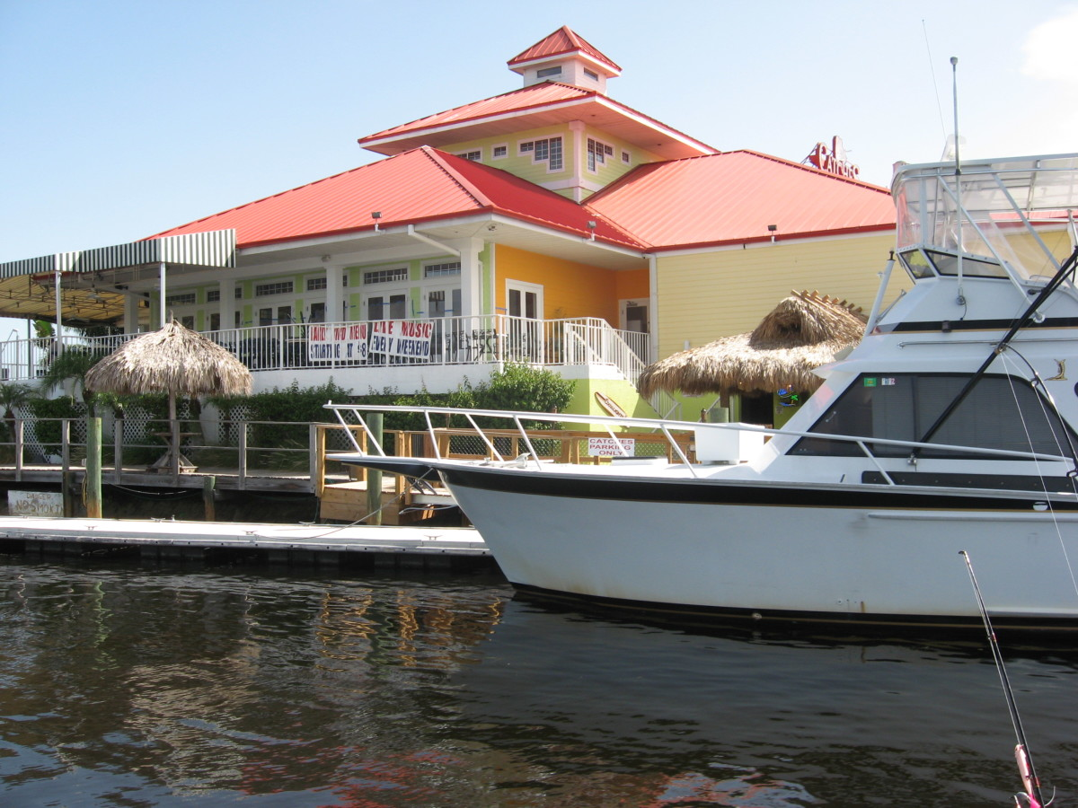 Waterfront Dining in Port Richey, Florida