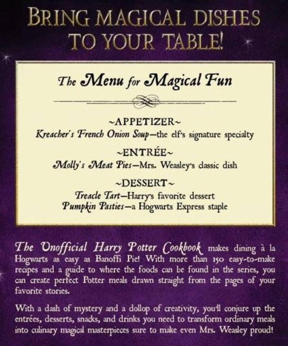 Harry Potter Menu
