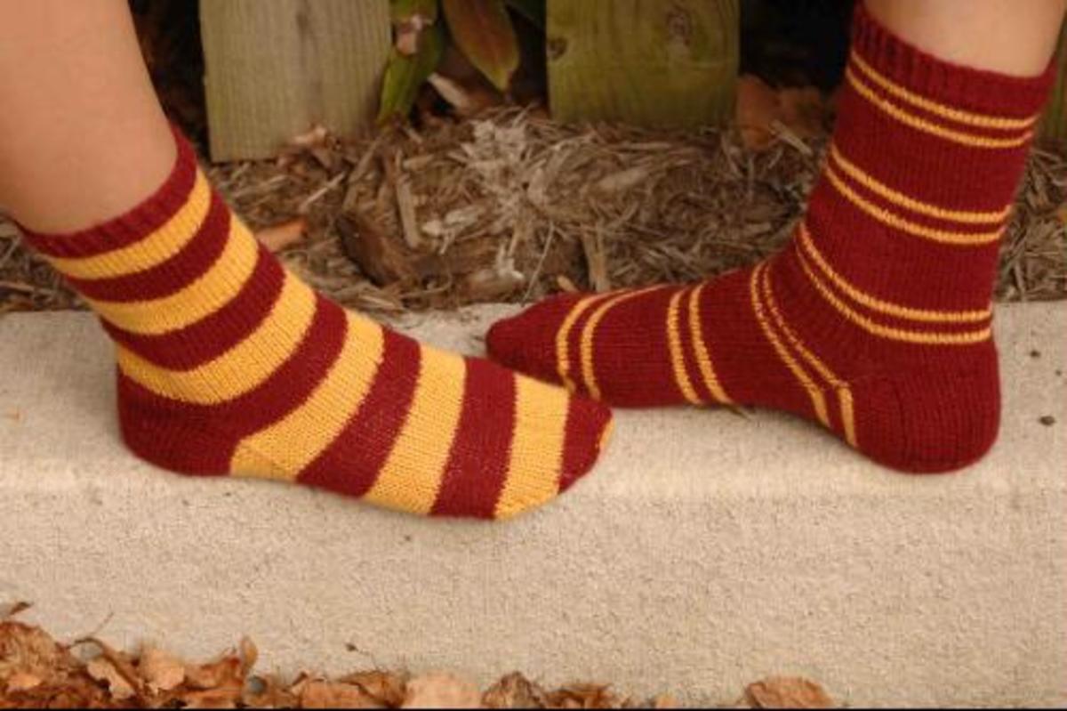 Harry Potter  House Socks