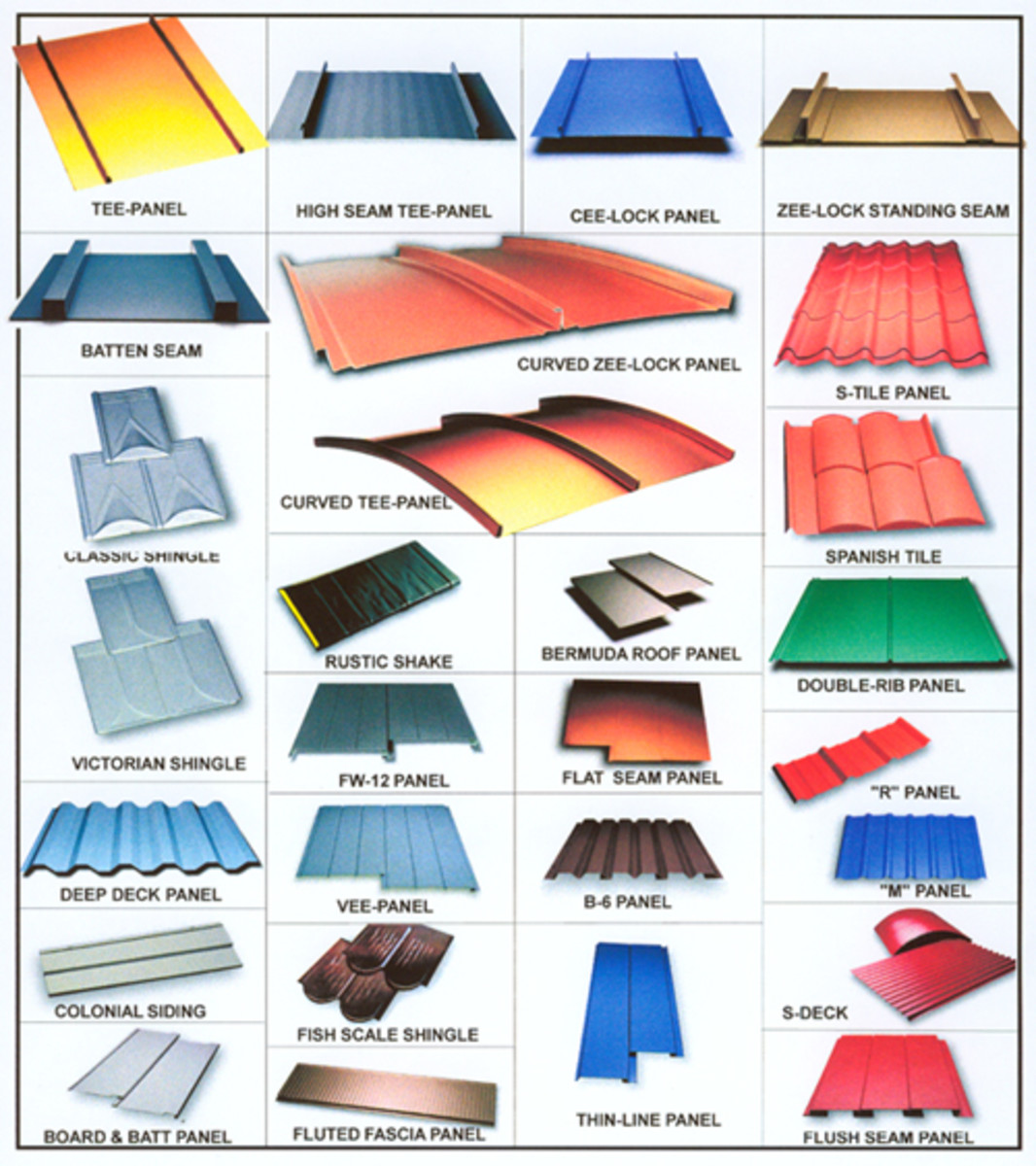 Design Ideas for Metal Roofs