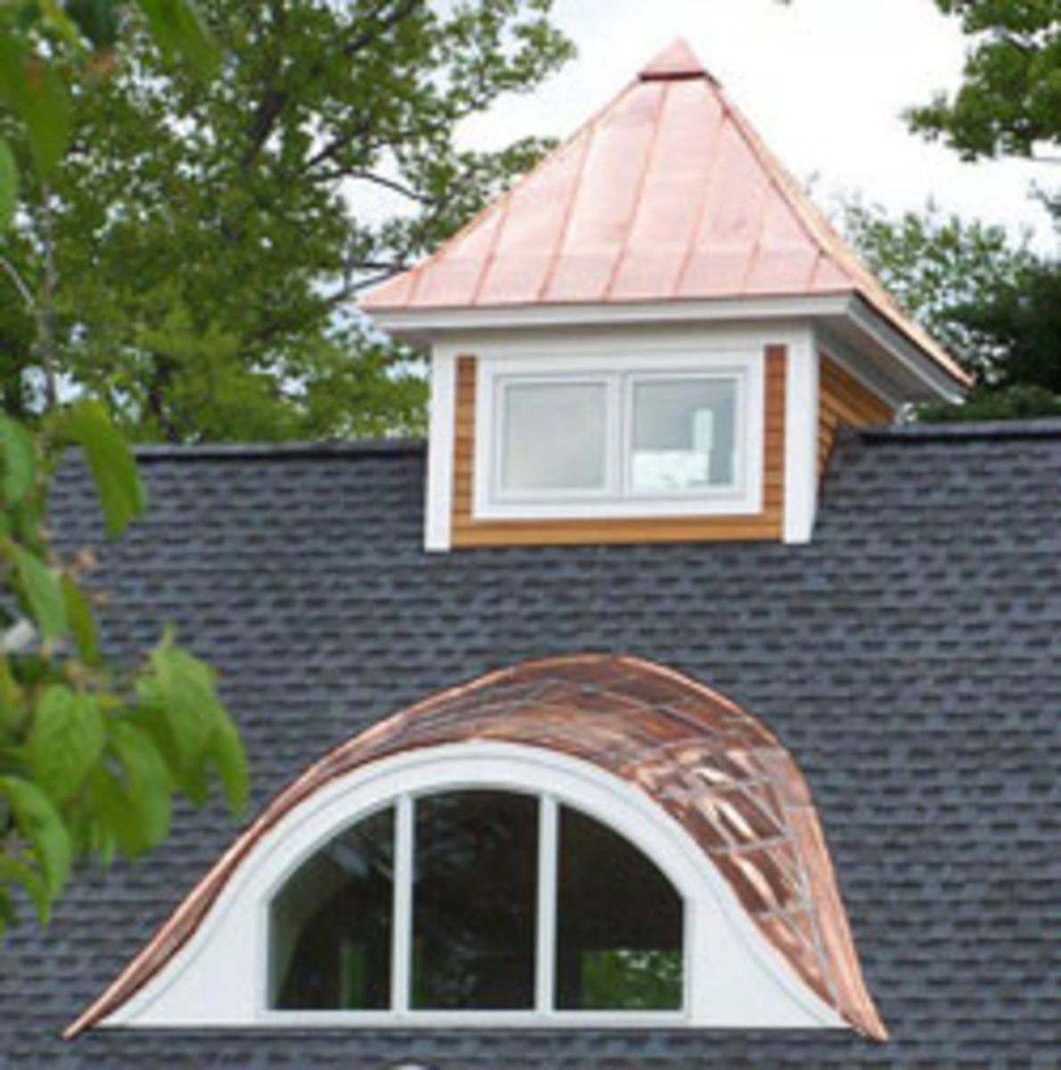 Real Copper Metal Roof