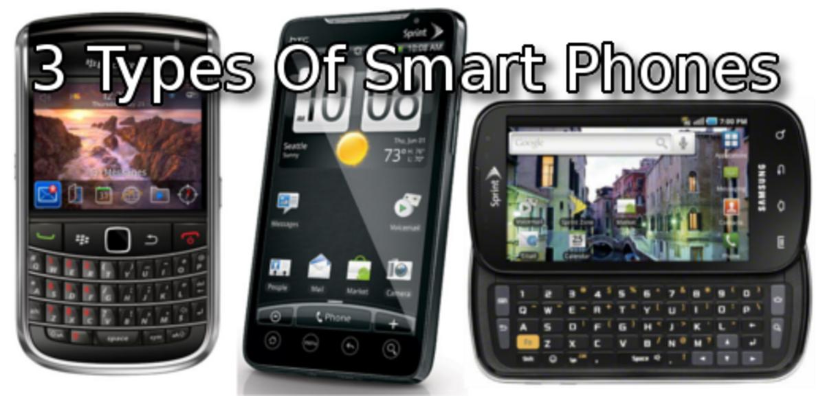 Bar vs Slate vs Slider: Compare The 3 Types Of Smart Phones