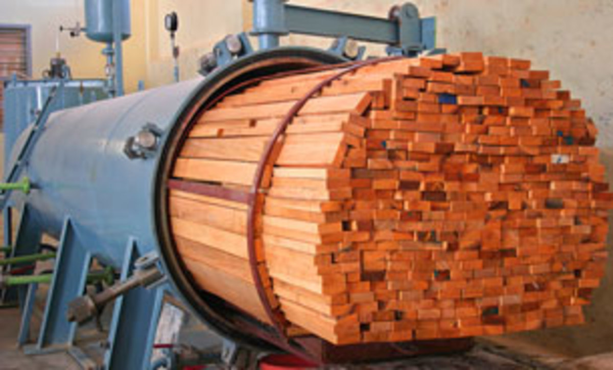 Chemical Treatment for timber