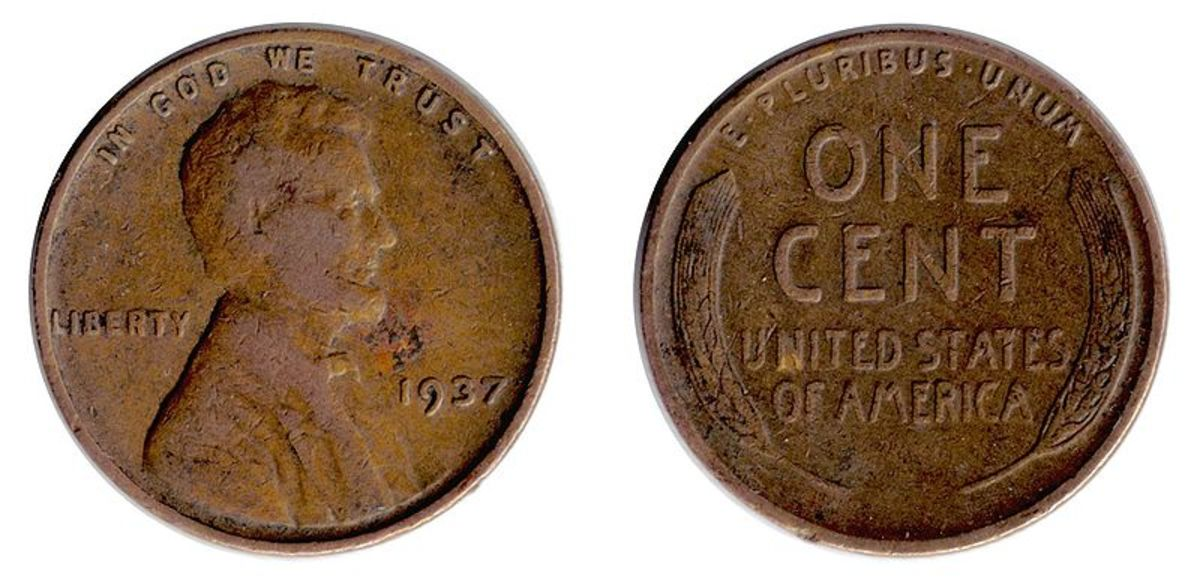 The Wheat Cent, commonly called the wheat penny, is a fun find in the change.