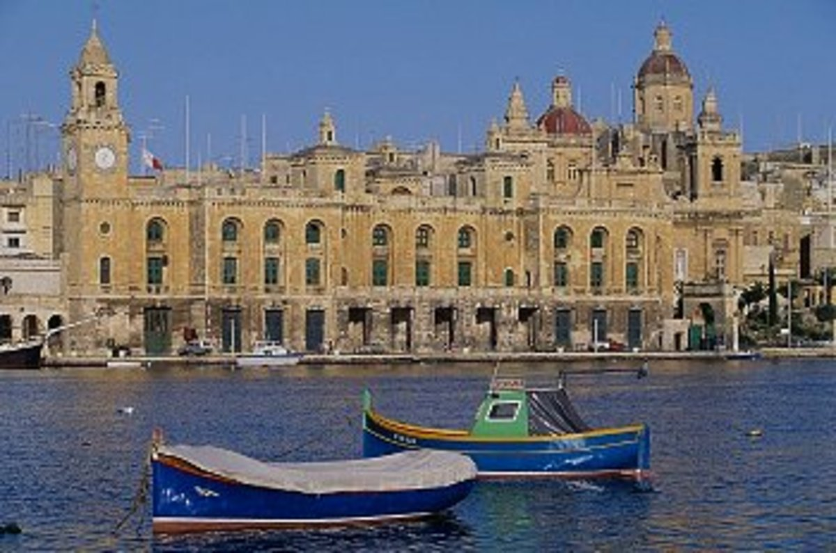 Vittoriosa, an ancient town in Malta, that played significant role in the Siege of Malta in 1565.