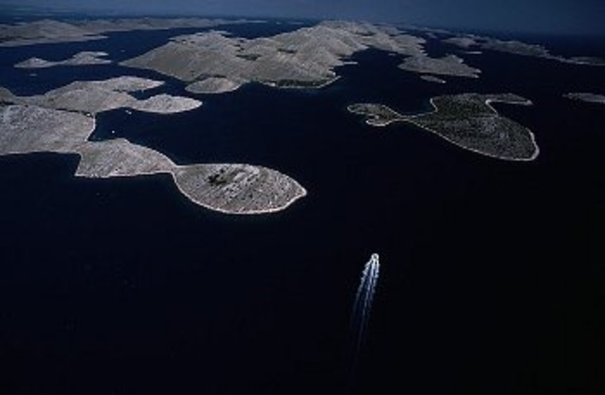 Kornati Islands; Croatia is a country of islands