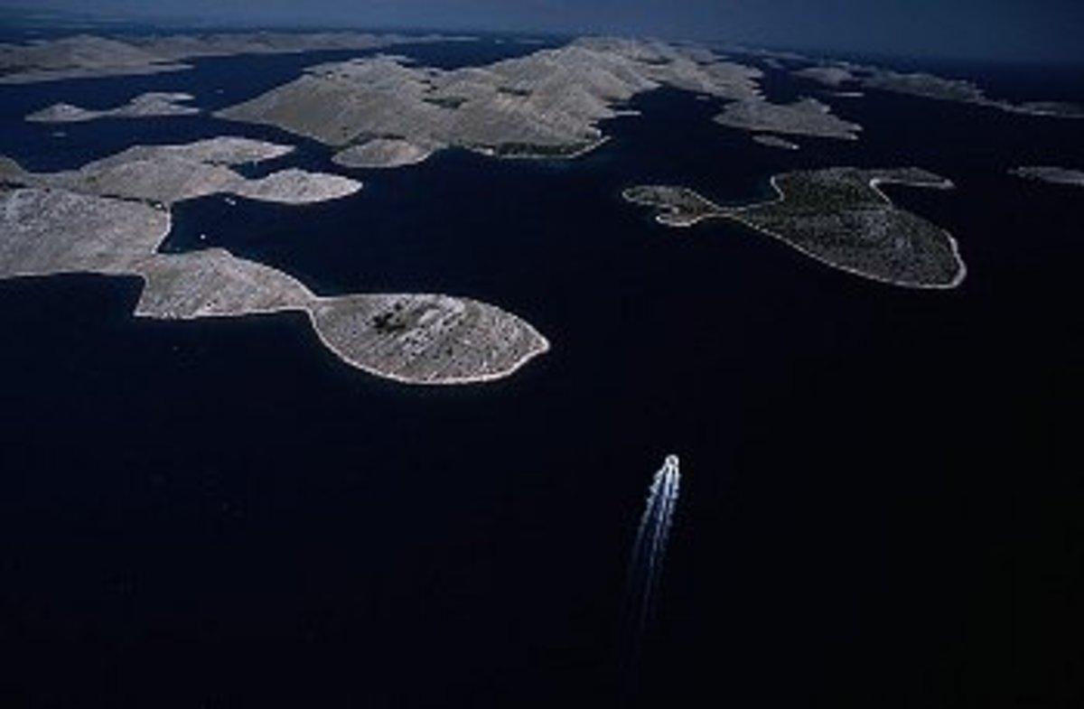 Kornati Islands; Croatia is a country of islands