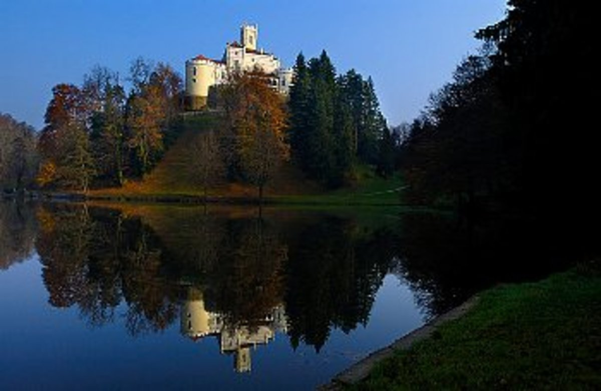 Trakoscan Castle, inland of Croatia is not less interesting than the coast