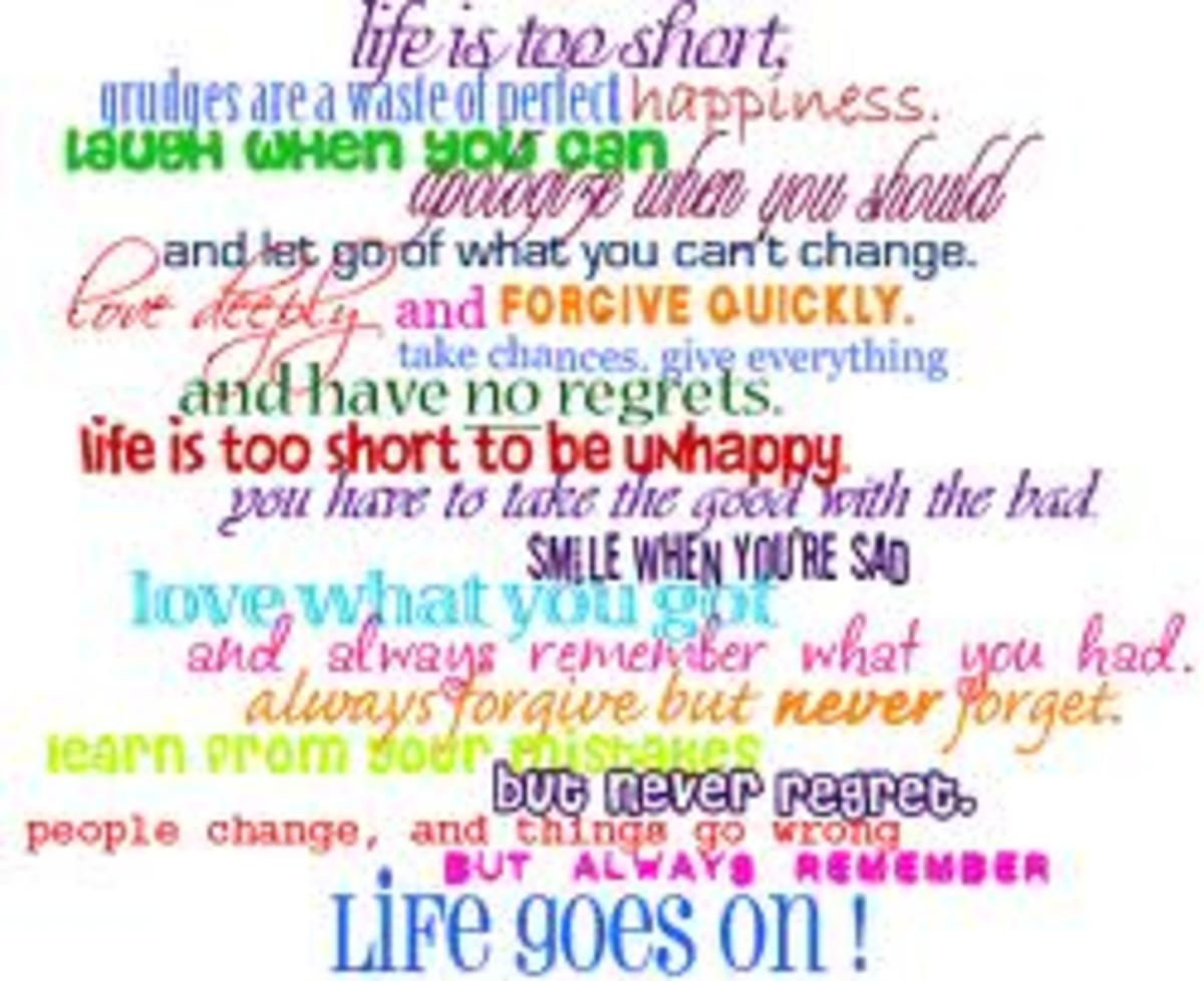 Motivational Quotes Colorful Poster