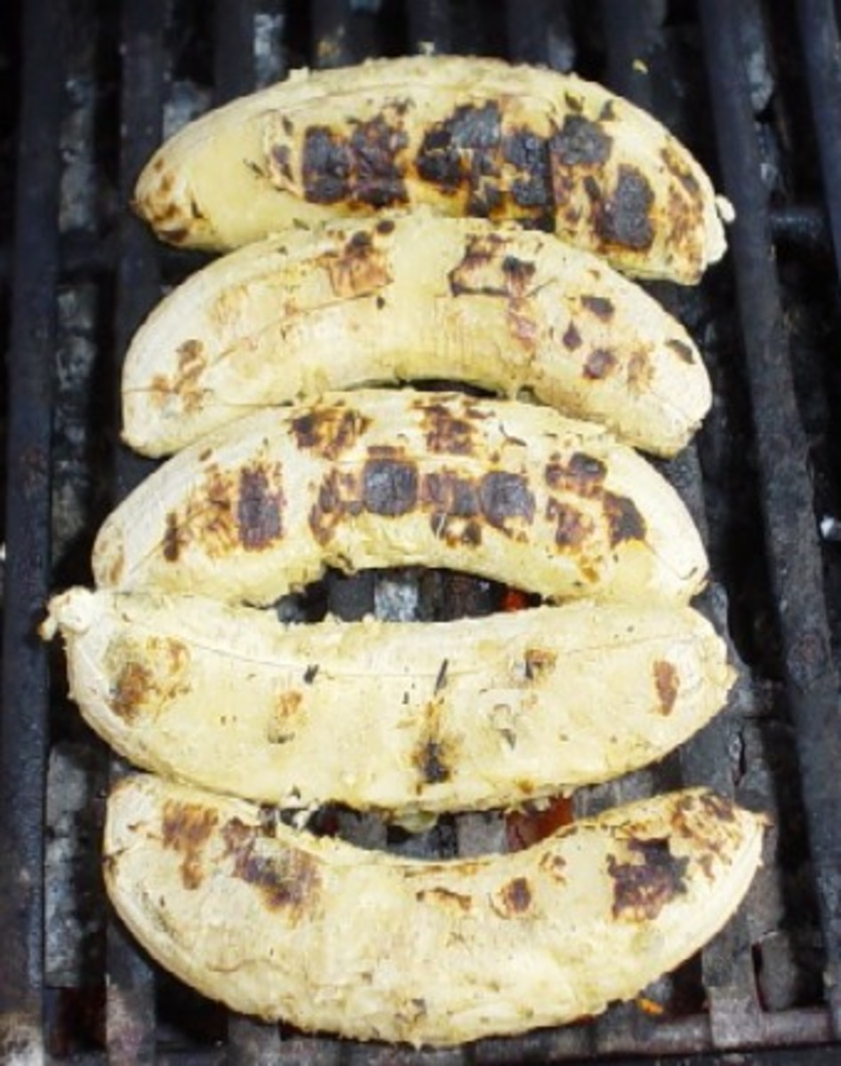 Yes you can even grill bananas. In the last minute or two of cooking time sprinkle them with honey and cinnamon.