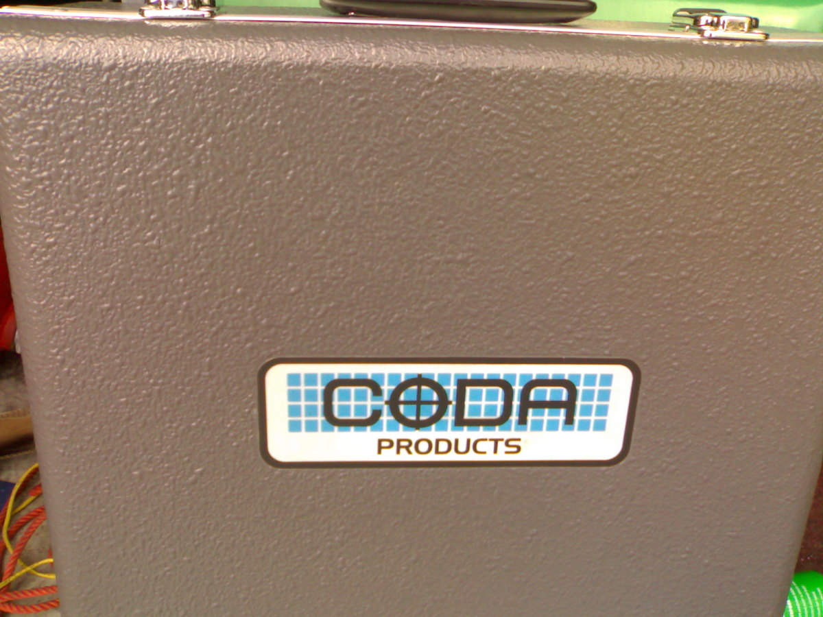 This is the shape of things today. A new Coda 5 gas engine analyser.