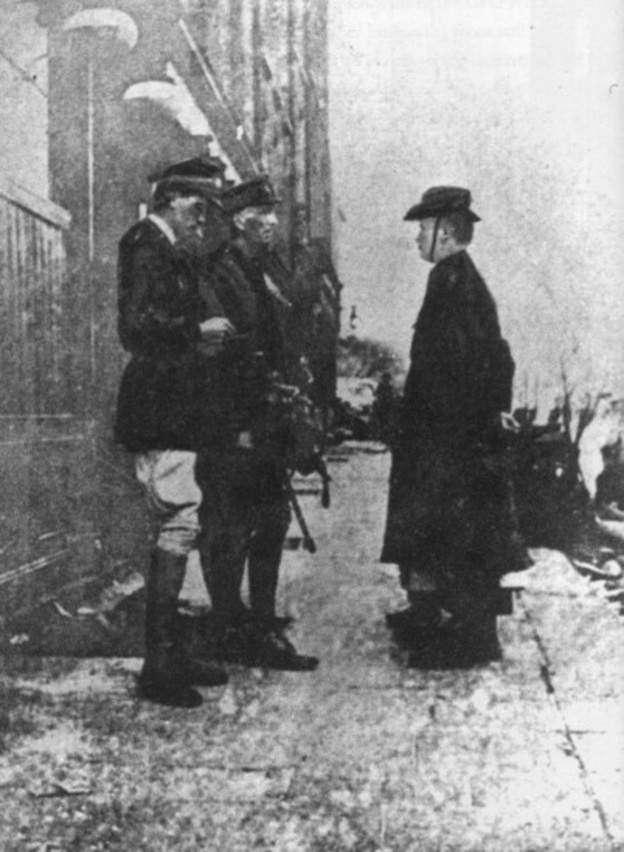 Patrick Pearse Surrenders
