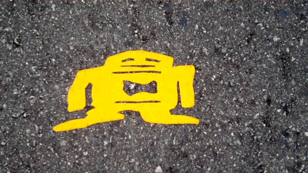 Stikman - a Look at Mysterious Stickman Street Art in Crosswalks