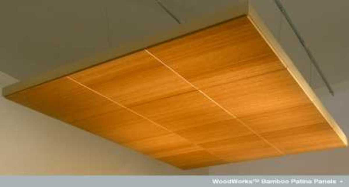 bamboo wood ceiling