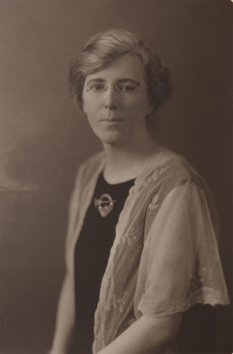 Kathleen Clarke in 1924