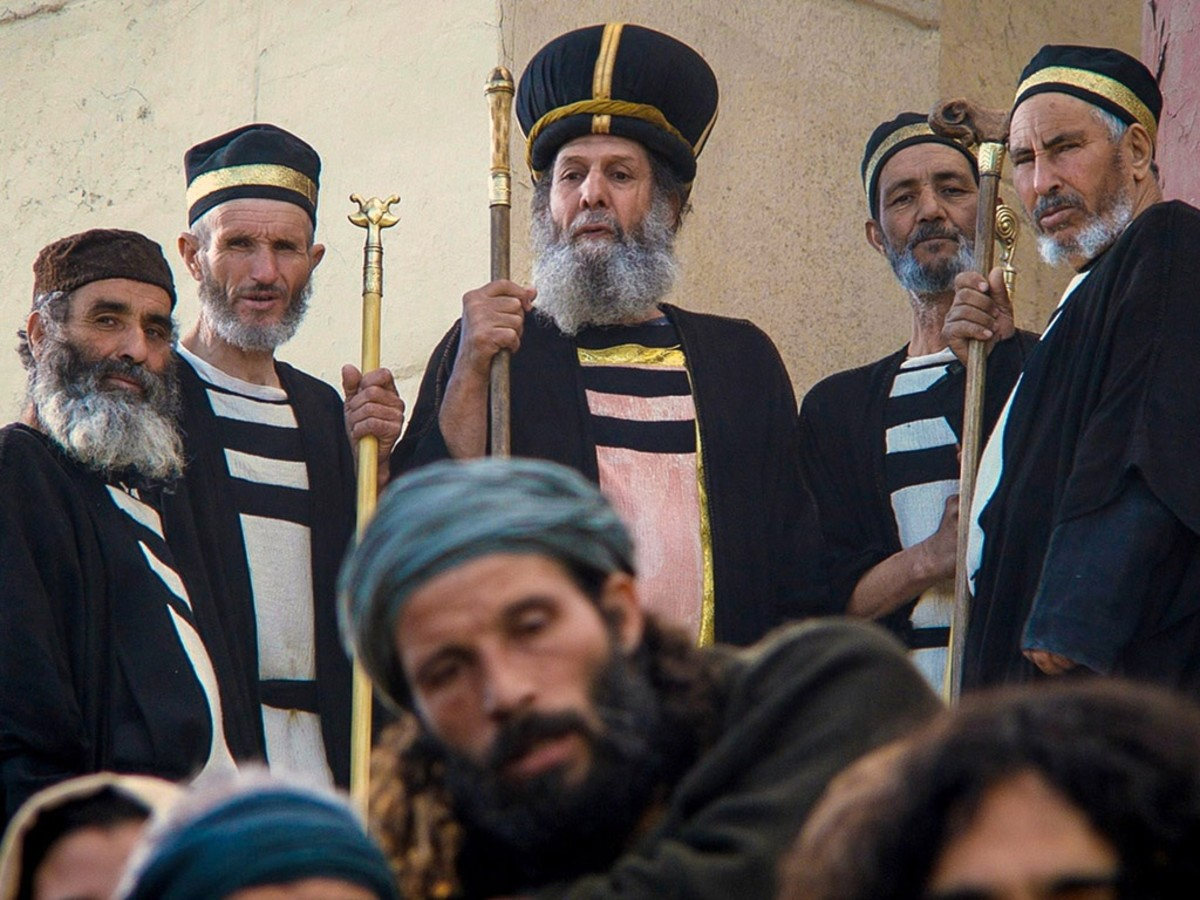 The religious Pharisees were self-serving and self-important.