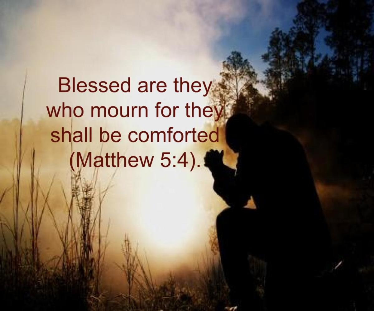How Are the Mournful Comforted?