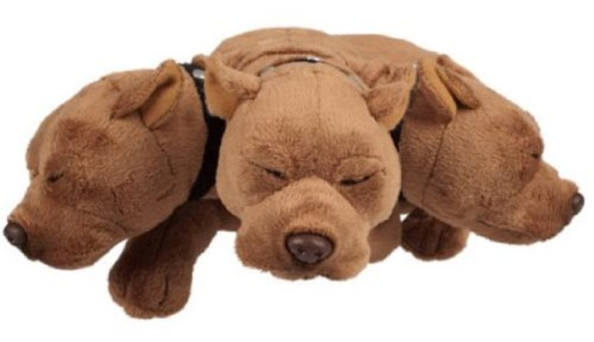 Harry Potter Fluffy Plush From The Wizarding World of Harry Potter & Universal Studios