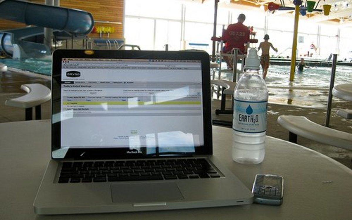 Madras Aquatic Center - free WiFi