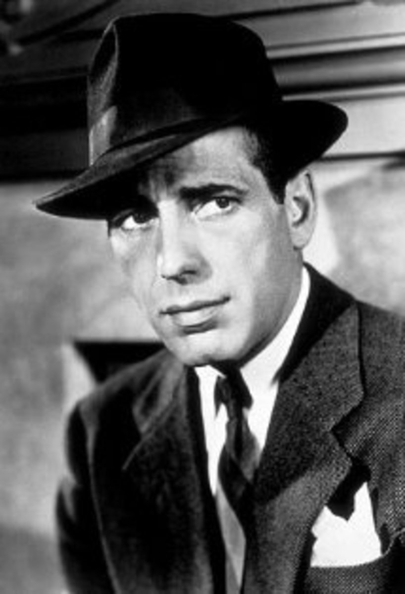 The Classic Fedora Hat Worn by Humphrey Bogart in Casablanca