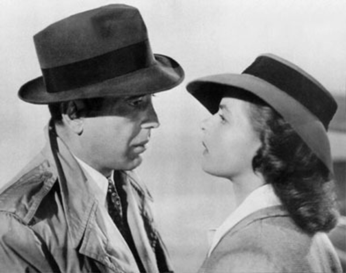 """Here's Looking At You Kid""...Humphrey Bogart-Casablanca"