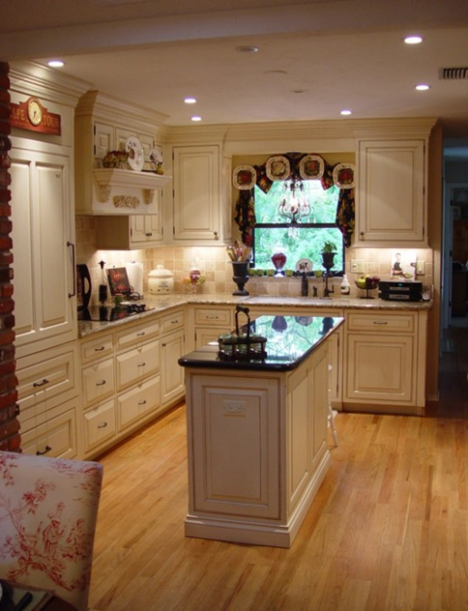 Remodeling Design Idea - Add Porcelain Plates