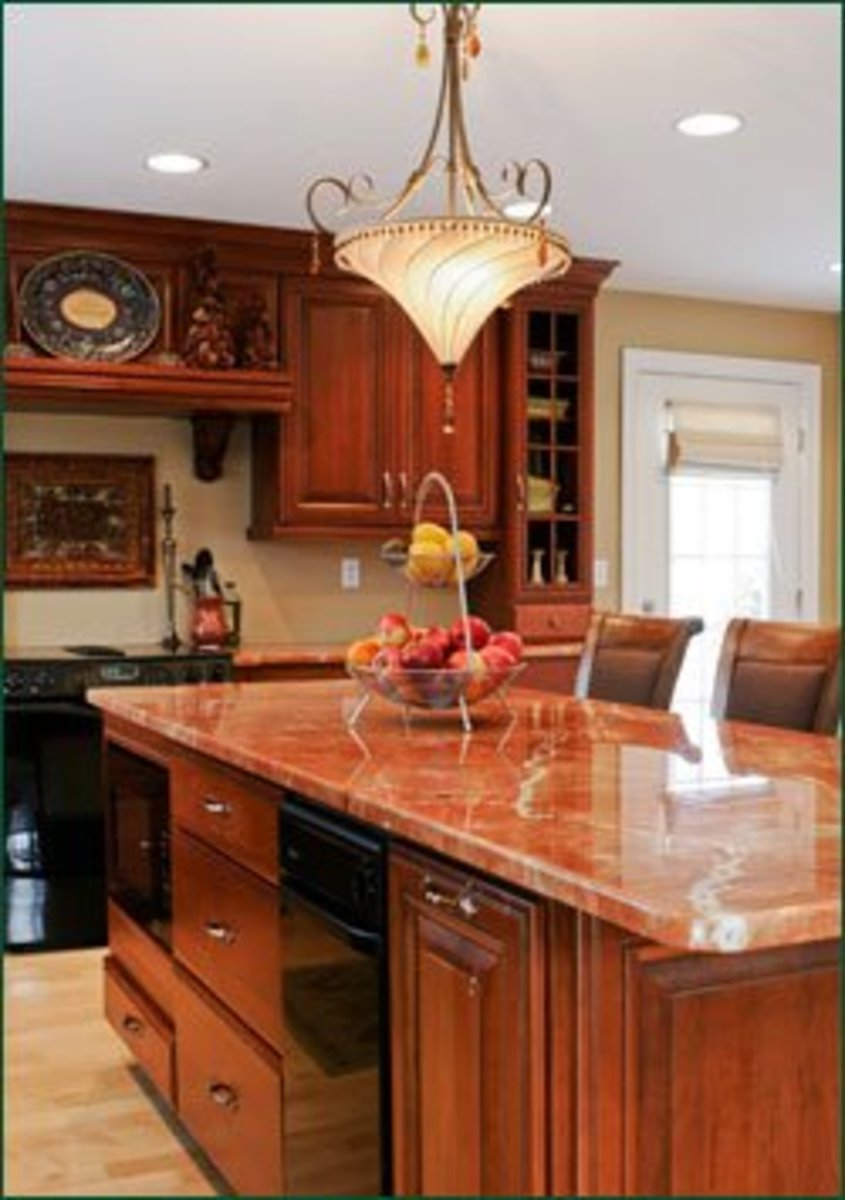 Kitchen Remodeling Idea - Add a Great Light