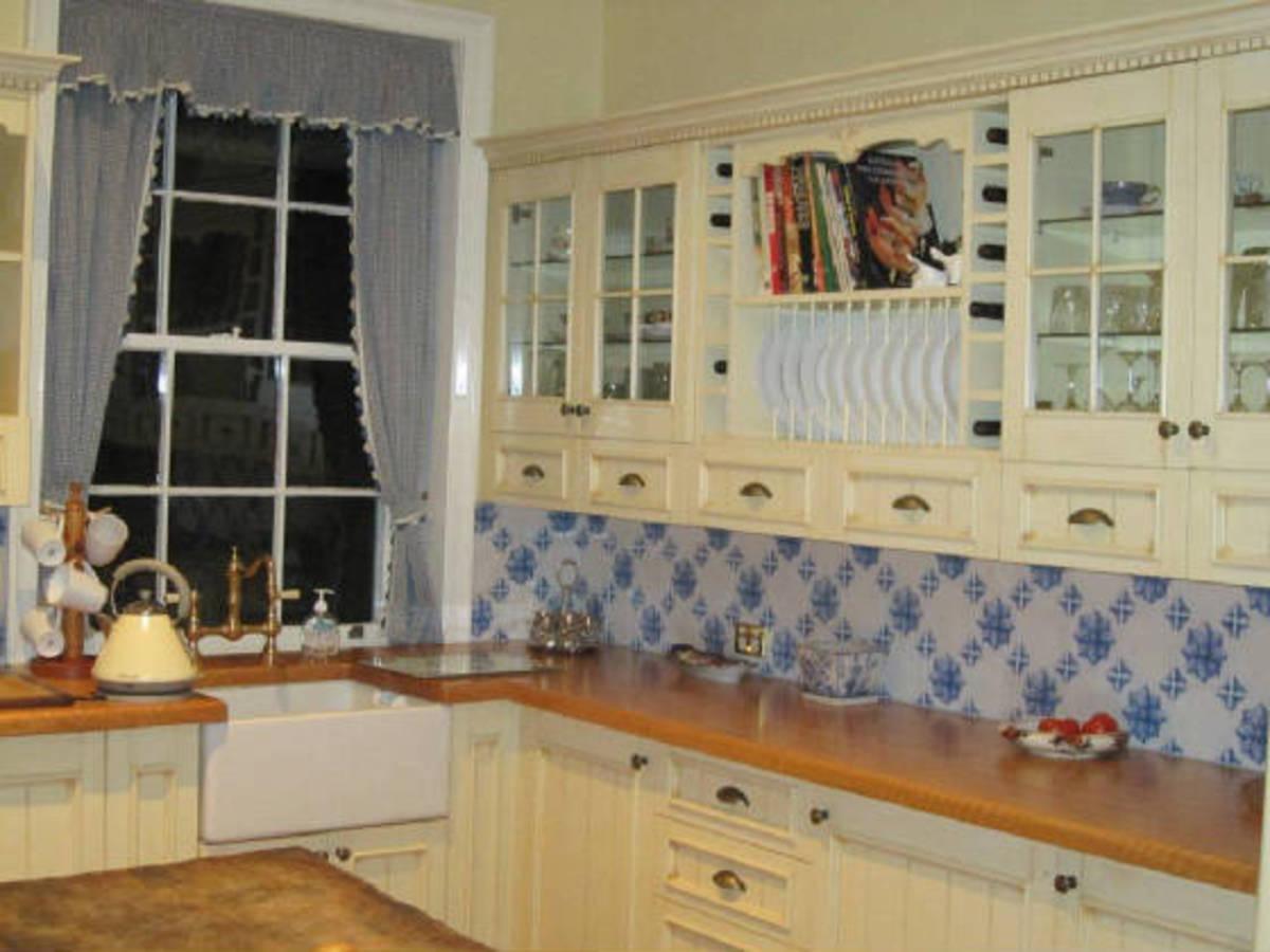 Porcelain Kitchen Back Splash