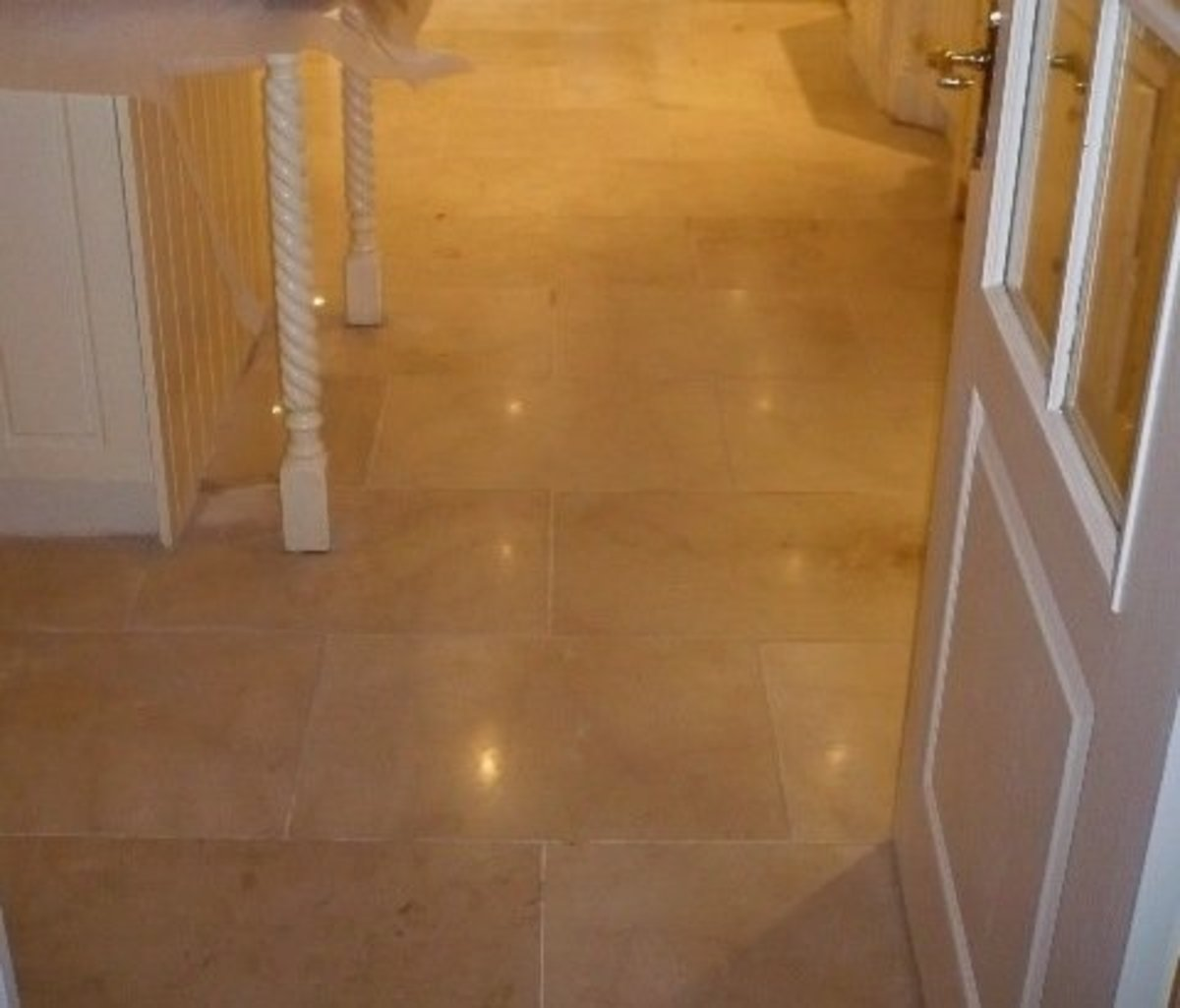 Marble Kitchen Flooring