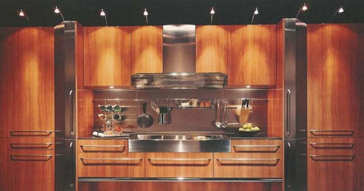 Halogen Above the Kitchen Cabinet