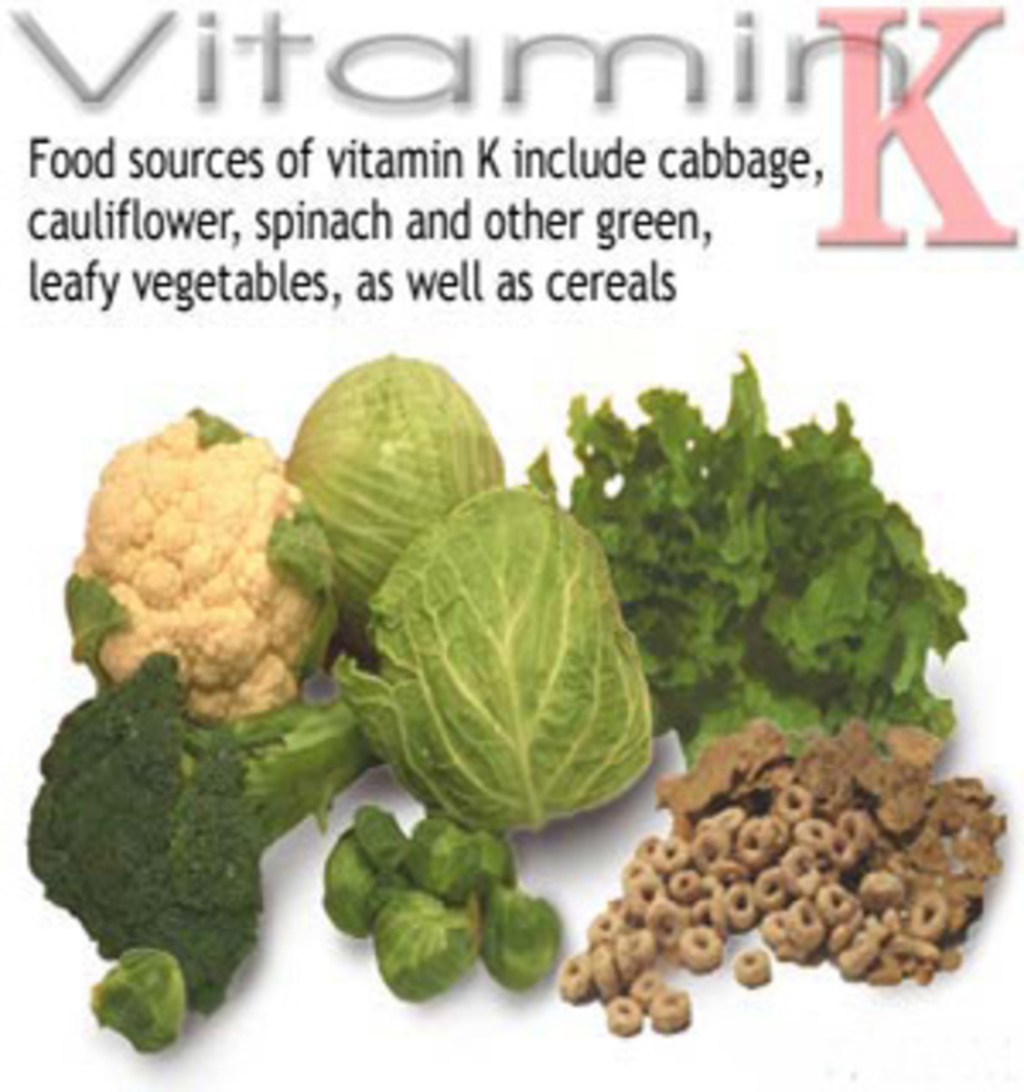 Eat consistent amount of vitamin k while taking coumadin
