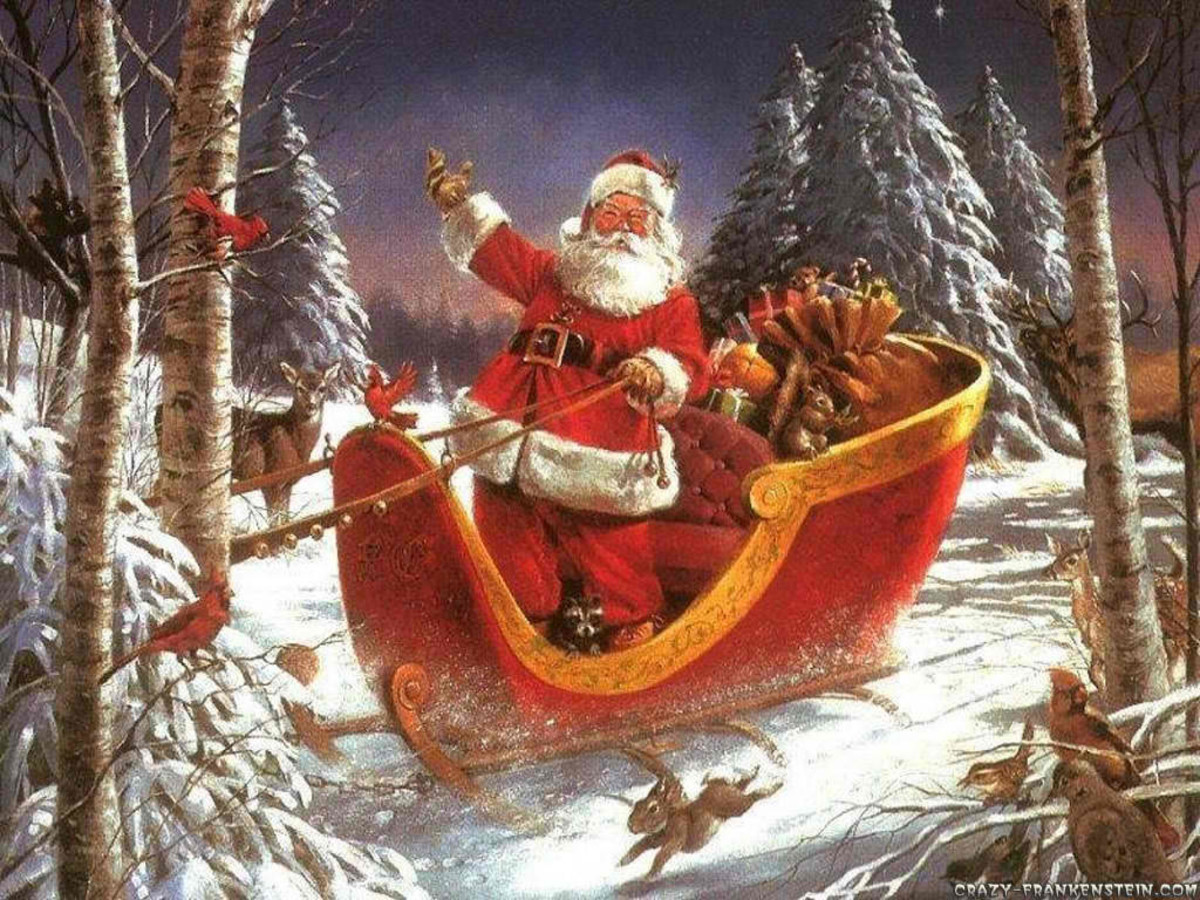 The Legendary Santa Claus (Photo courtesy of http://25decchristmasday.wordpress.com/)