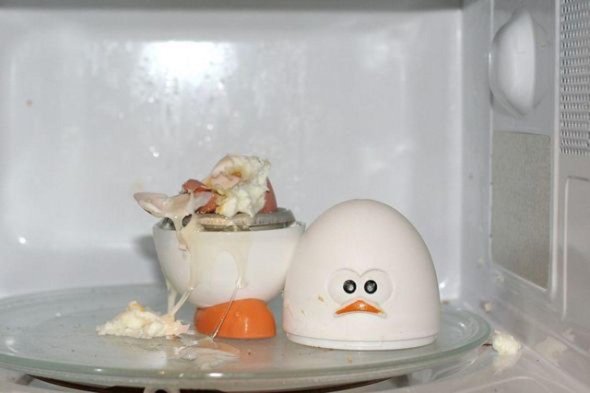 Egg explosion