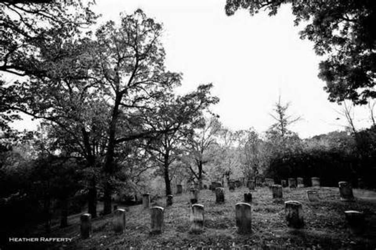 Old photo of Greenwood Cemetery