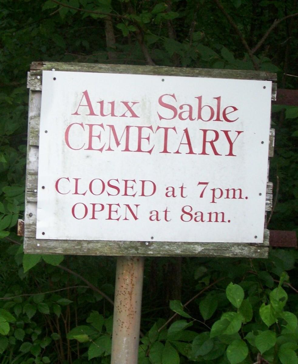 Aux Sable Cemetery