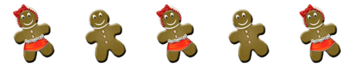 Gignerbread Cookies Clip Art
