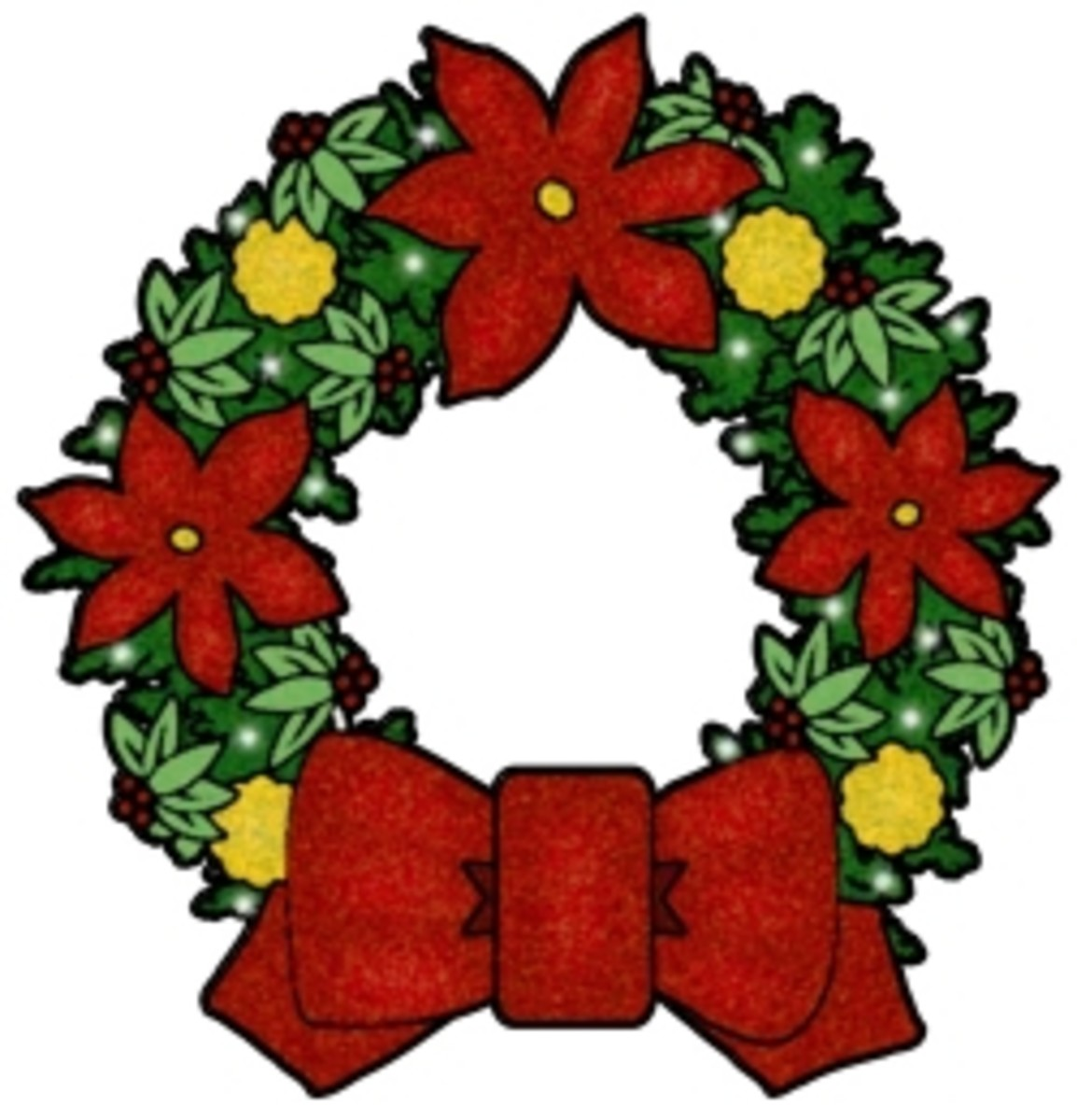 Free Christmas Clip Art Images - Nativity, Wreaths, Trees & More!