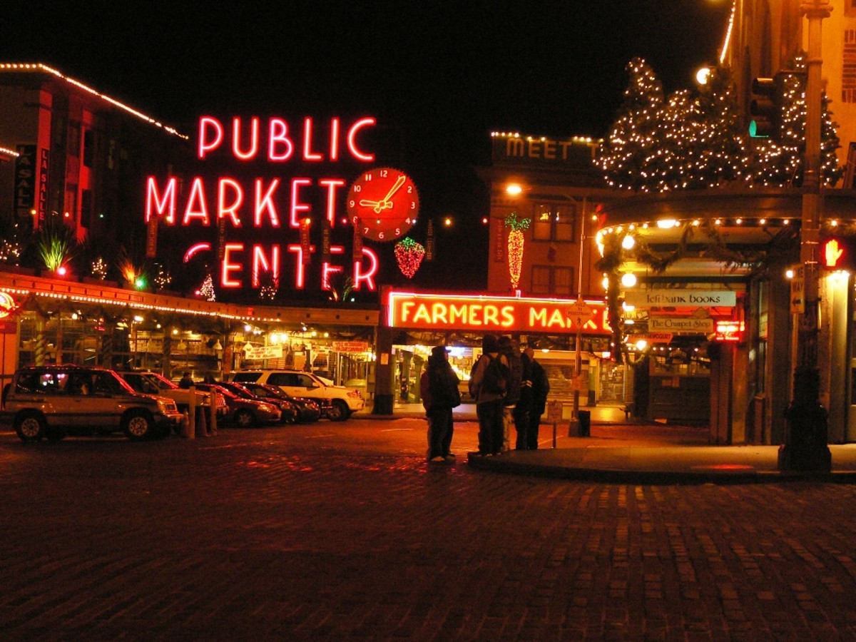 Pikes Place Market in Seattle is said to be one of the most haunted places in the area.