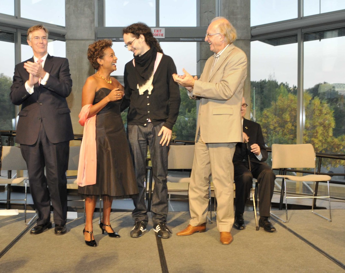 10th annual RBC Canadian Painting Competition at a gala event at the National Gallery of Canada in Ottawa, 27 Sep 2008