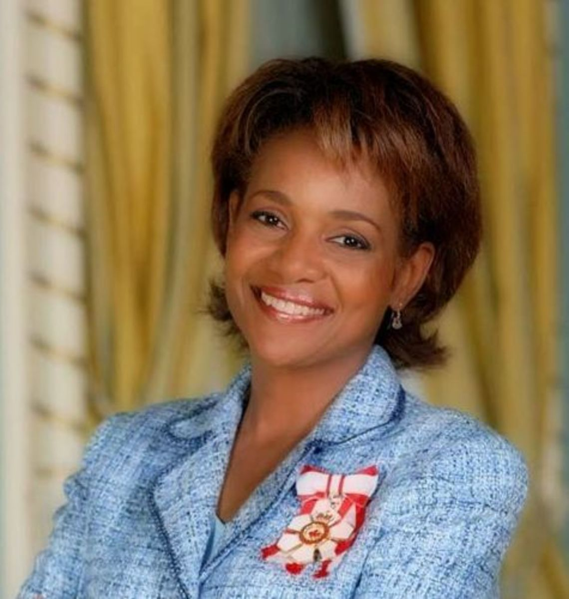 The charming and photogenic Michaëlle Jean (27th Governor General of Canada)