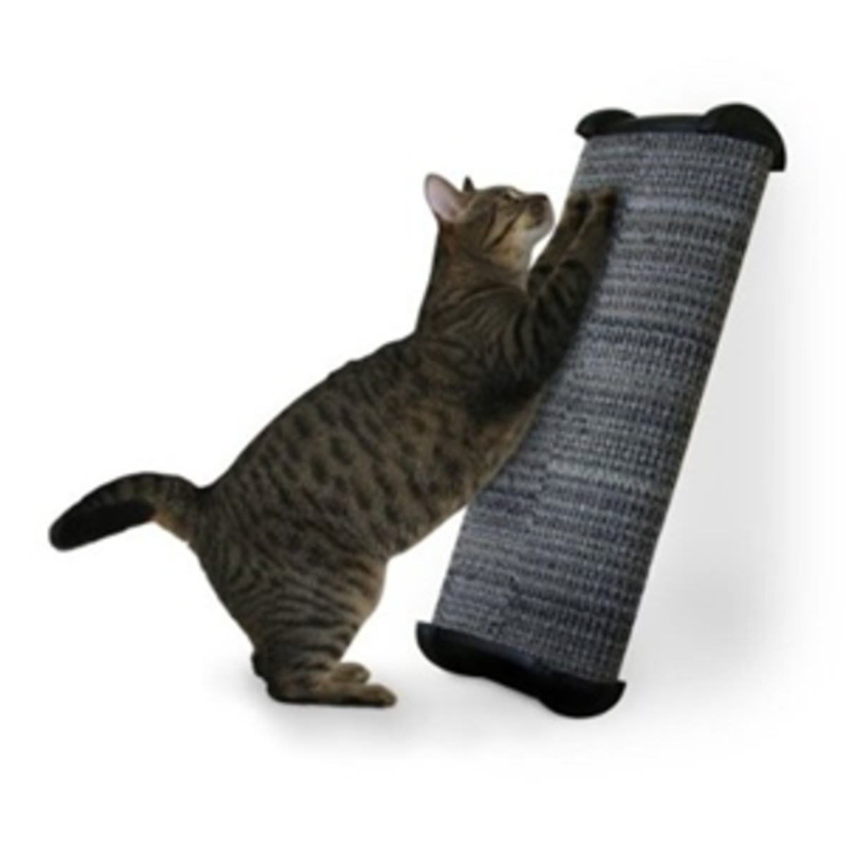 Use the Feliway Diffuser in conjunction with the Feliway Spray and a Cat Scratching Post to stop your cat scratching furniture and furnishings