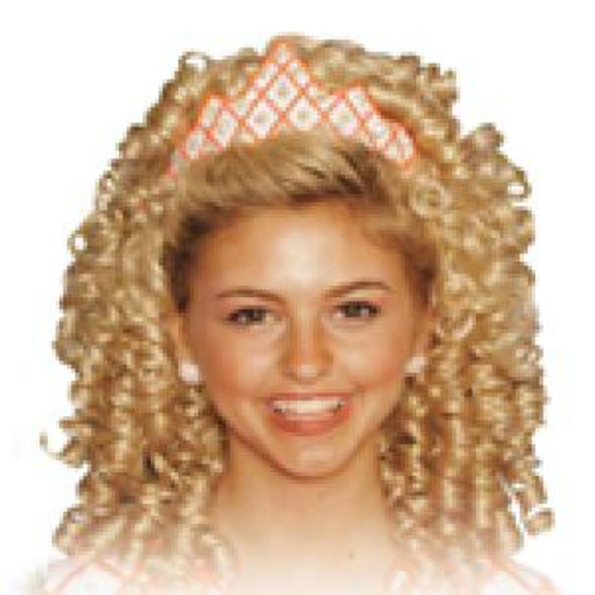 Irish Dancing Wig