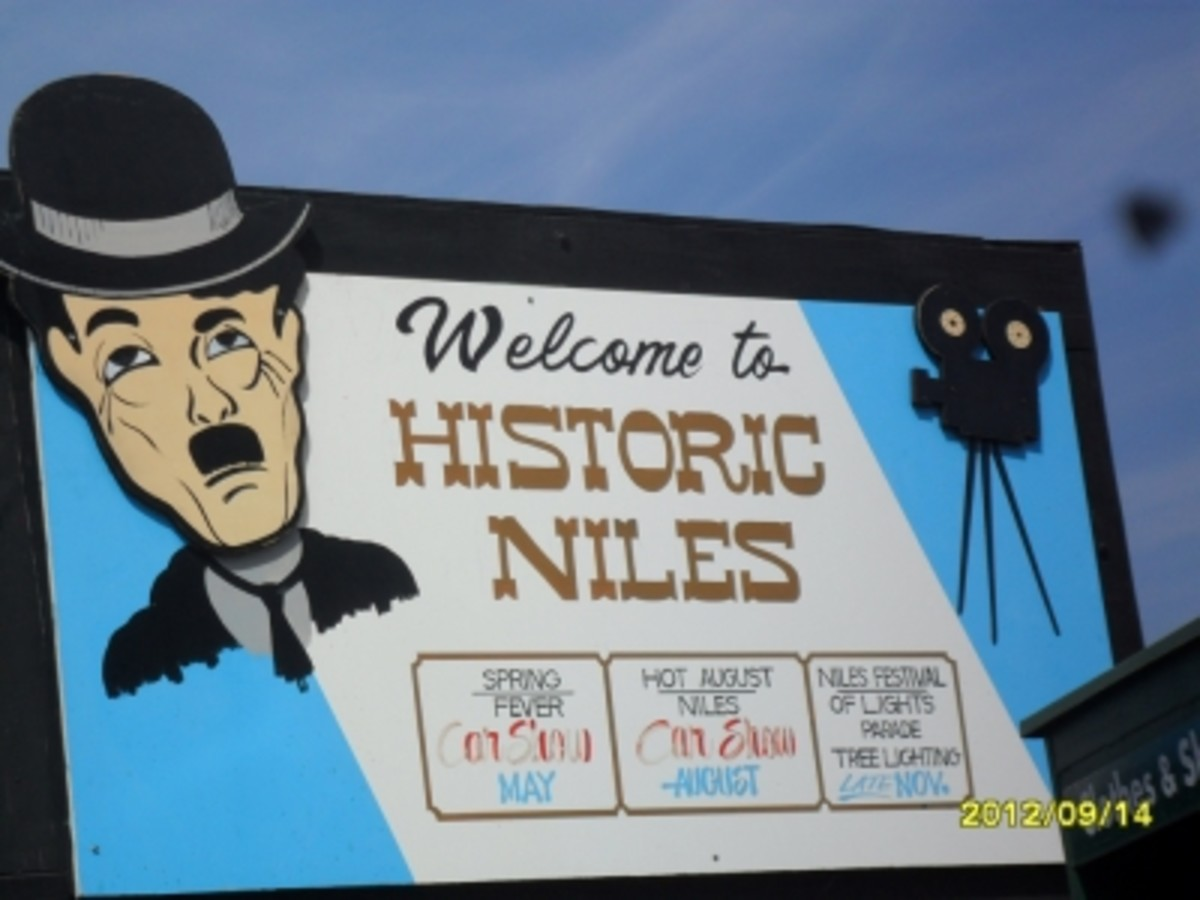 Historic Niles Billboard