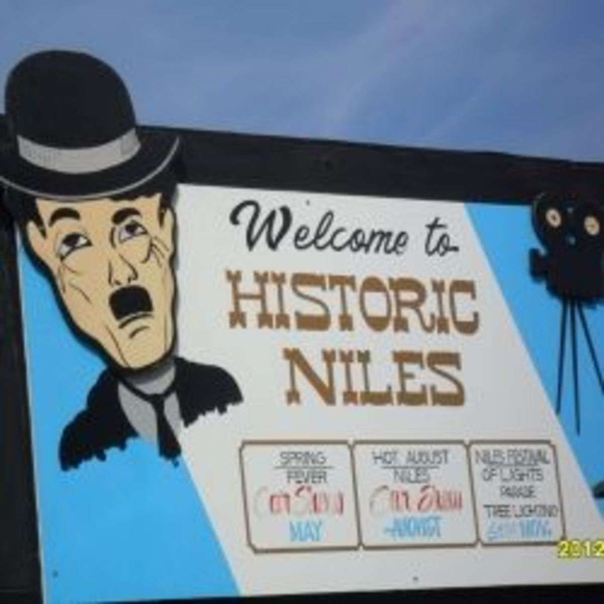 Historic Niles District of Fremont, California