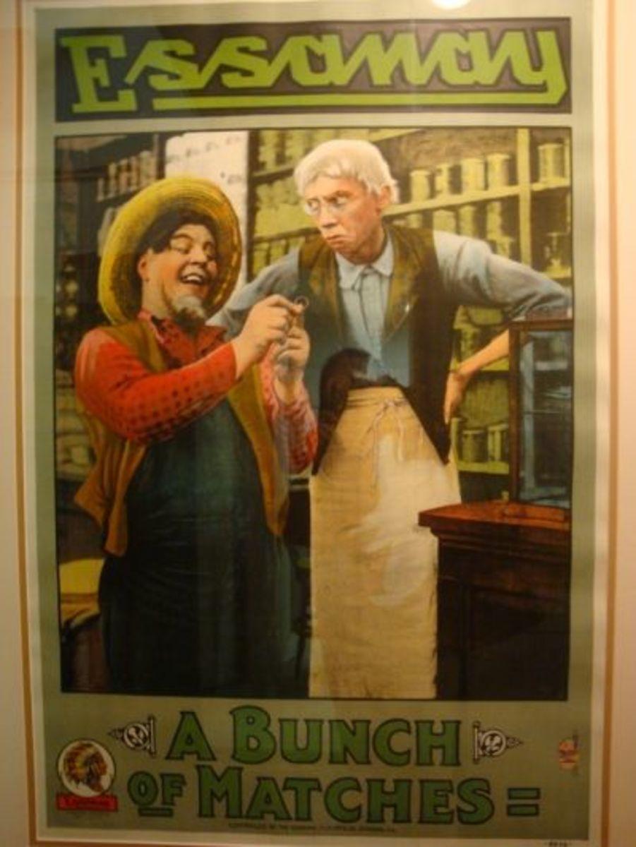 Vintage Essanay Comedy Poster