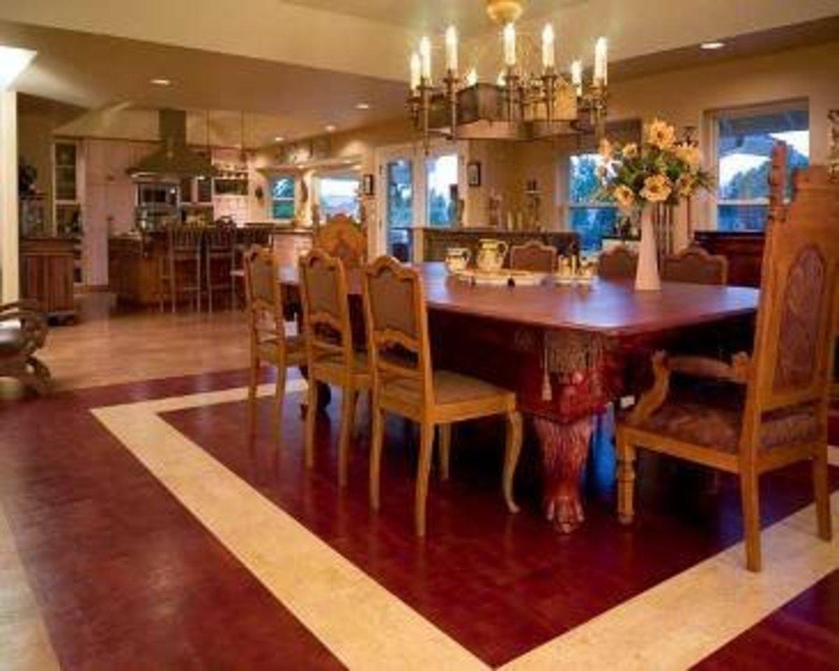 Design Idea - Bamboo Flooring-Cork Flooring-Eucalyptus Flooring