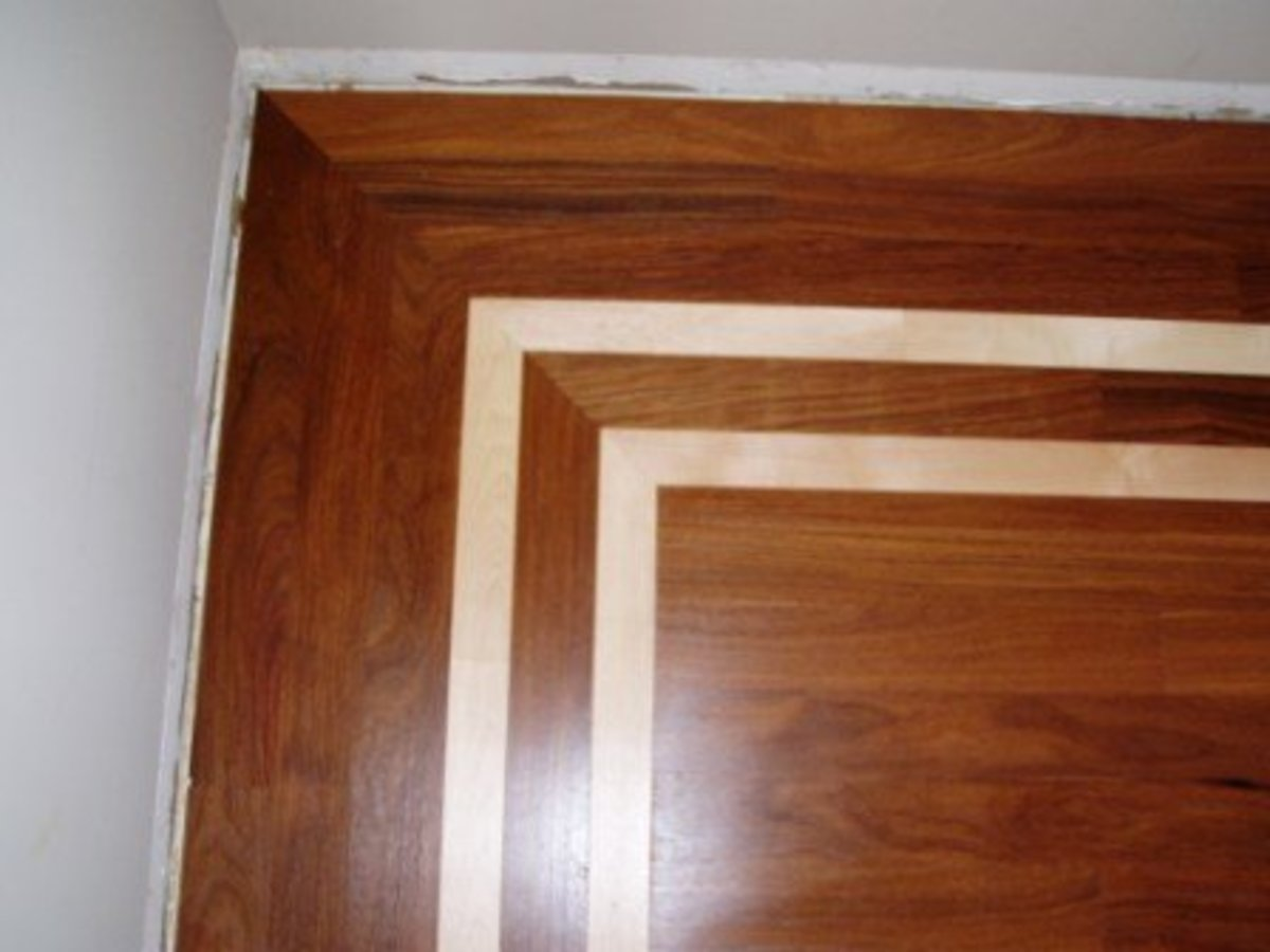 Home Improvements - Hardwood Flooring Decorative Designs and Borders ...
