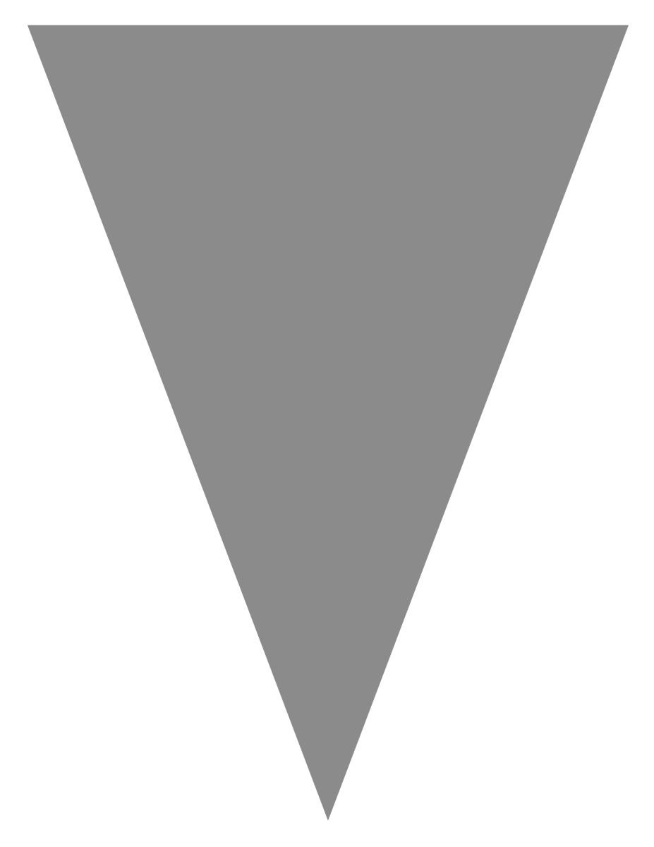 Blank graduation flag -- silver gray