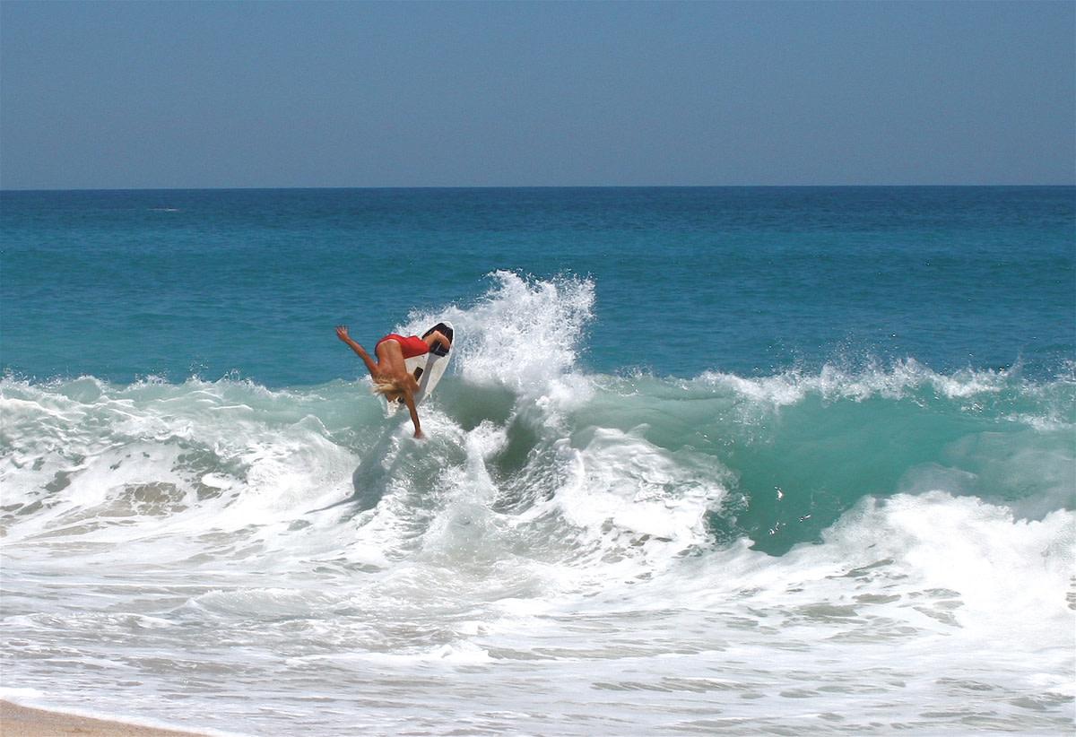 wave-riding skim