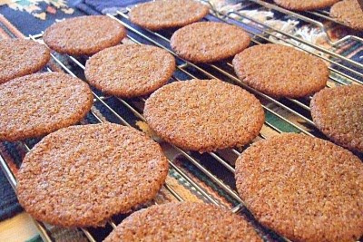 The Ginger Snap is a fresh baked cookie in a glass!